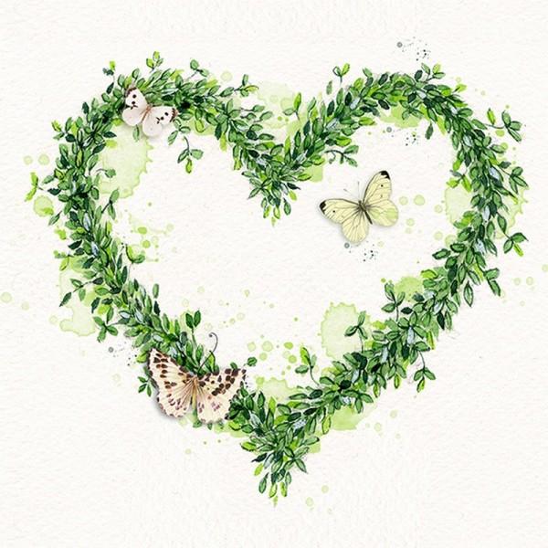 Serviette Atelier: Green Dream