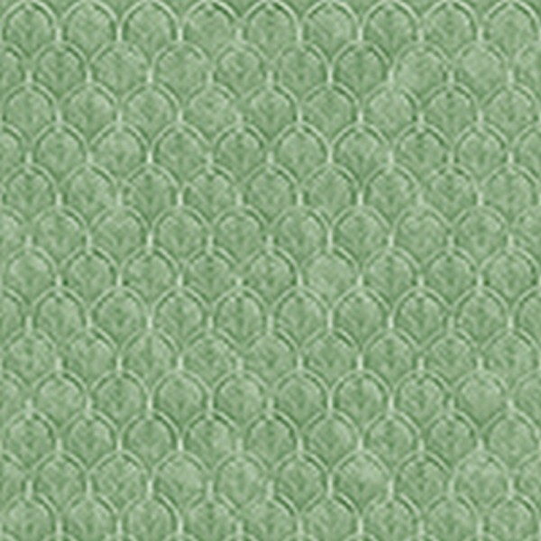 Serviette Avantgarde: Art Déco grün