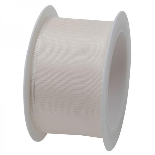 Taftband 40 mm: creme