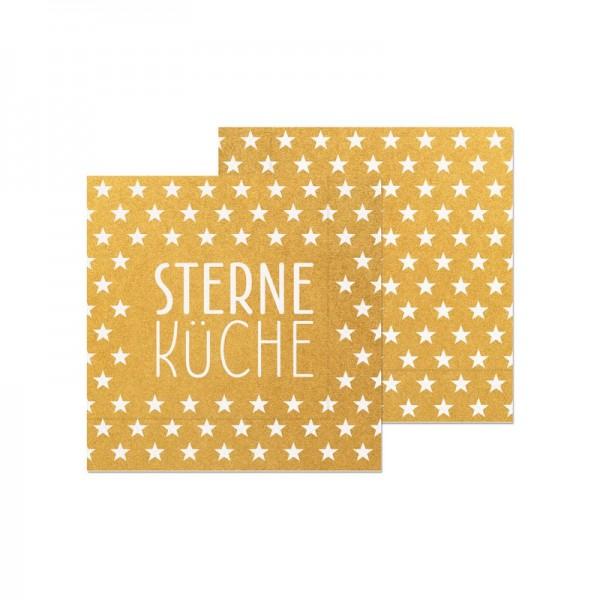 Serviette Sterneküche20St33x33