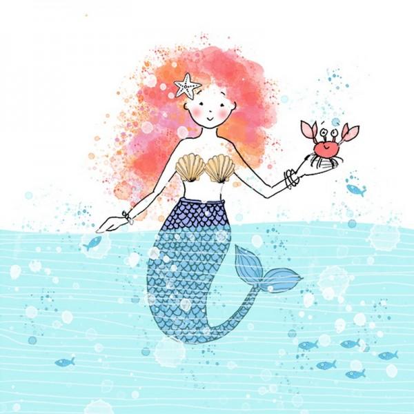 Serviette Atelier: Mermaid