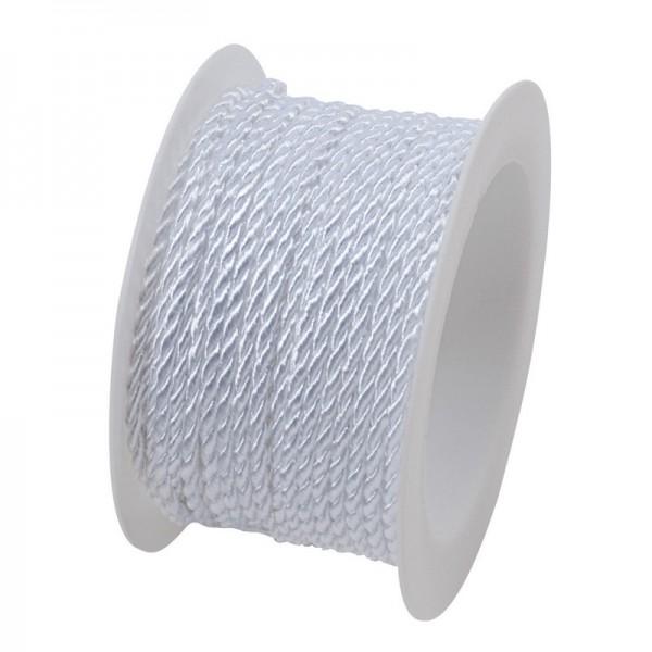 Kordel 2 mm: weiß