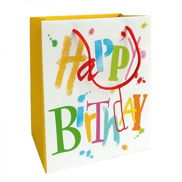 Geschenktaschen, 18 x 21 x 8 cm: Birthday Dance