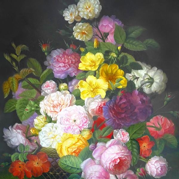 Serviette Atelier: Barock Flower