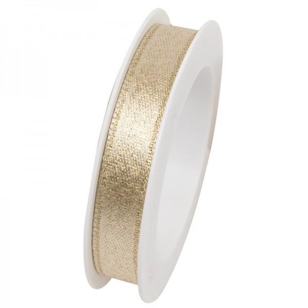 Taftband 10 mm: Brilliant gold