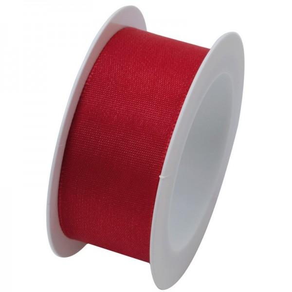 Taftband 25 mm: rot