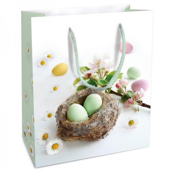 Geschenktaschen, 18 x 21 x 8 cm: Kleines Nest