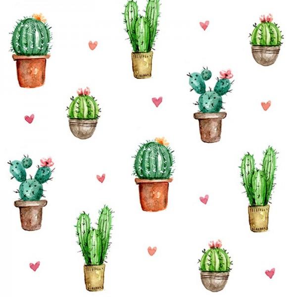 Serviette Atelier: Cactus Love