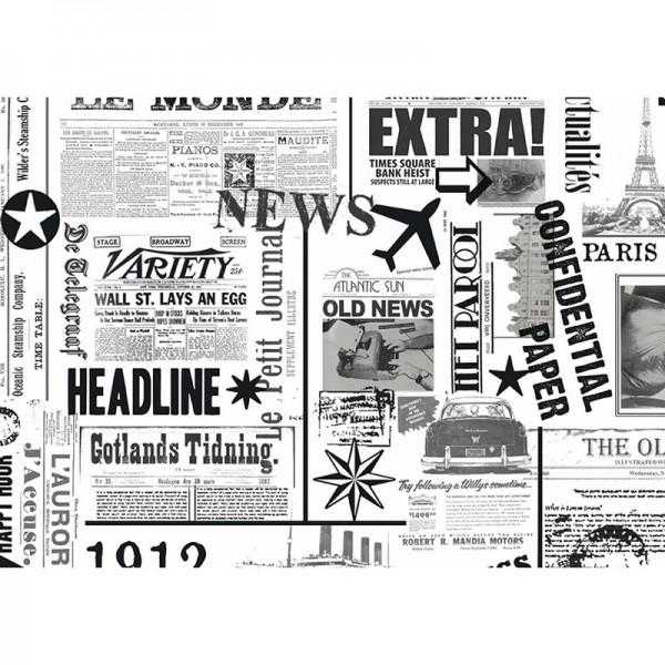 Geschenkpapier: News