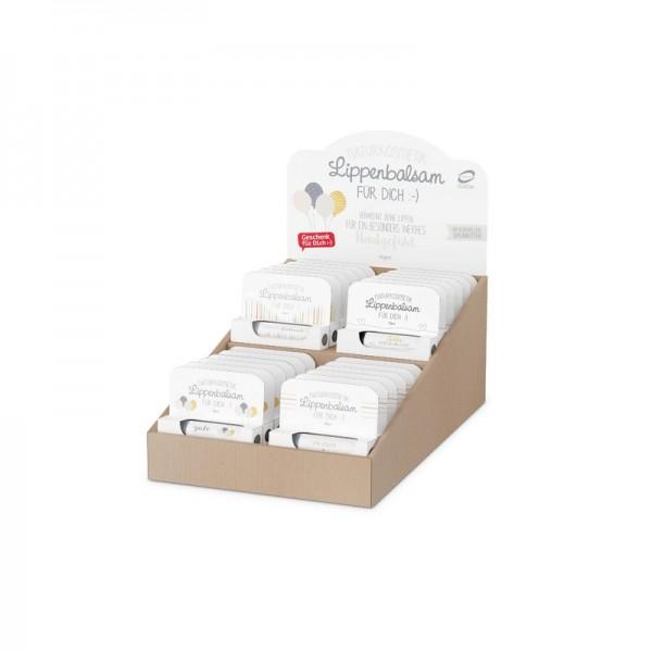 Lippenbalsam Paket 4x6 simple