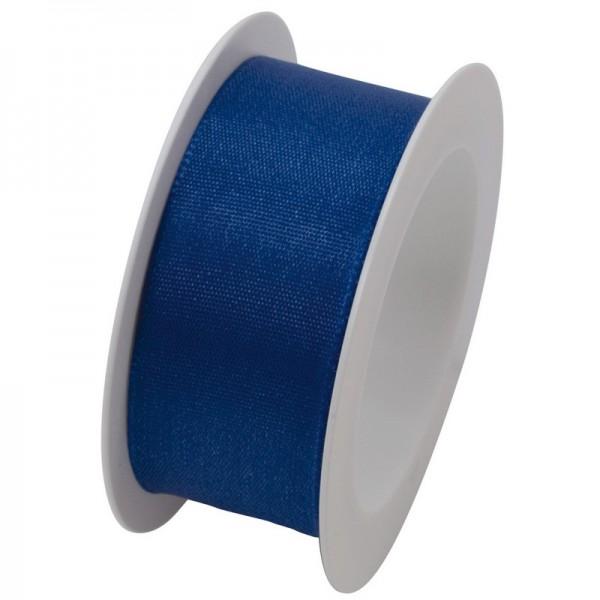 Taftband 25 mm: blau