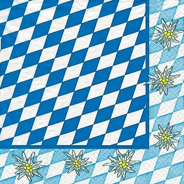 Serviette Atelier: Alpen Edelweiß