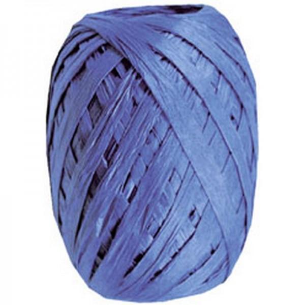 Raffiaband: blau