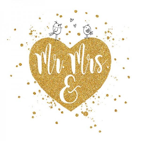 Serviette Atelier: Wedding Heart
