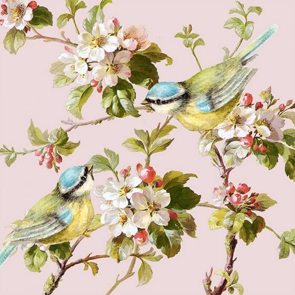 Serviette Atelier: Frühlingsimpression