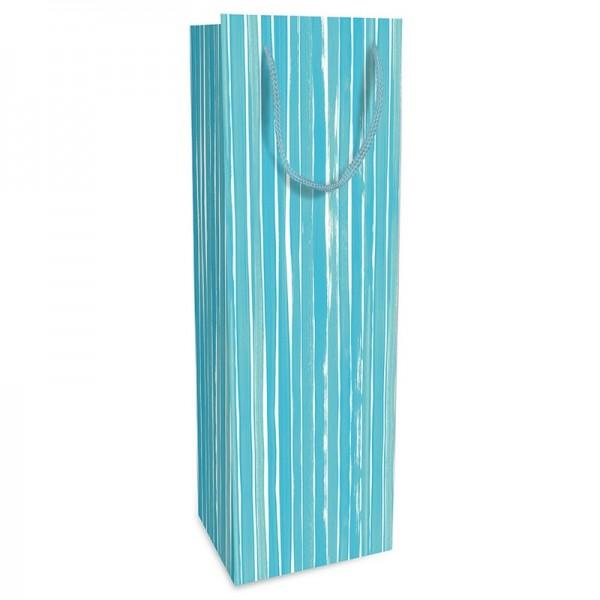 Flaschentaschen, 12 x 37 x 8 cm: Brush Stripes