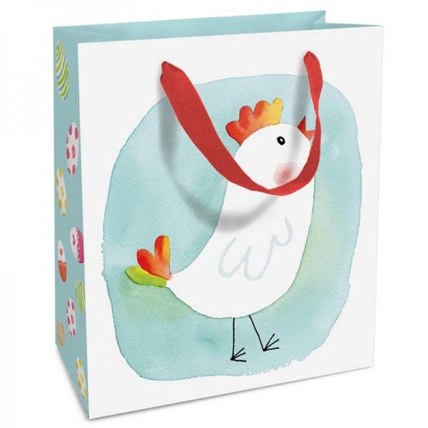 Geschenktaschen, 18 x 21 x 8 cm: Blue Chick