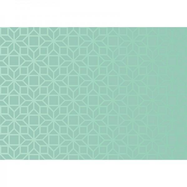 Geschenkpapier: Ornamental Misty Mint