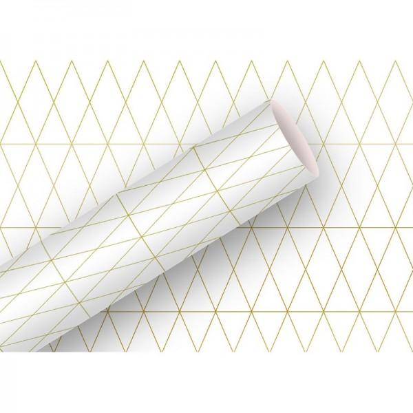 Geschenkpapier: Alu Geometric