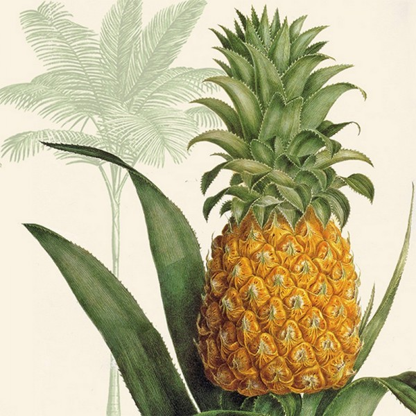 Serviette Atelier: Tropic Pineapple