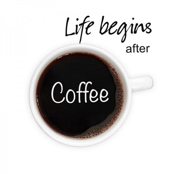 Serviette Atelier: Life begins