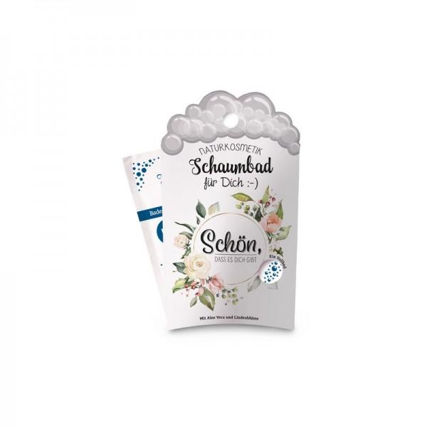Schaumbad 40 ml Schön, Blumen