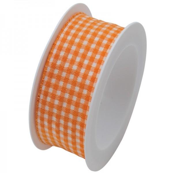 Taftband 25 mm: Vichy orange