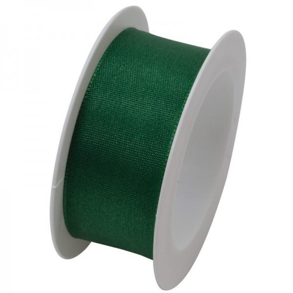 Taftband 25 mm: dunkelgrün