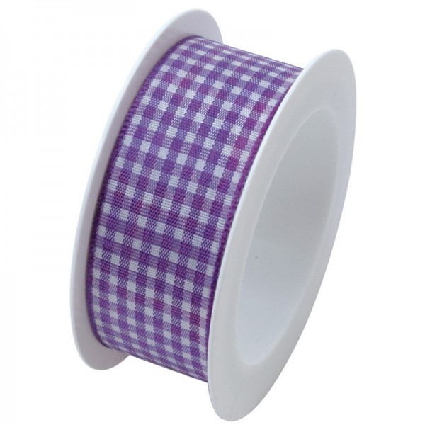 Taftband 25 mm: Vichy violett
