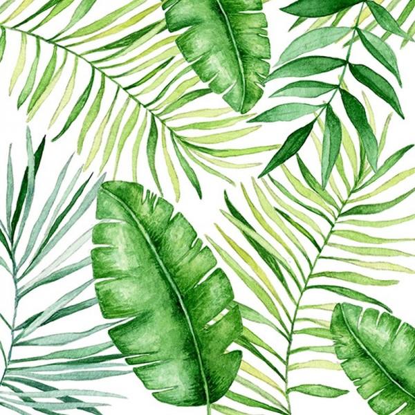 Serviette Atelier: Jungle Leaves