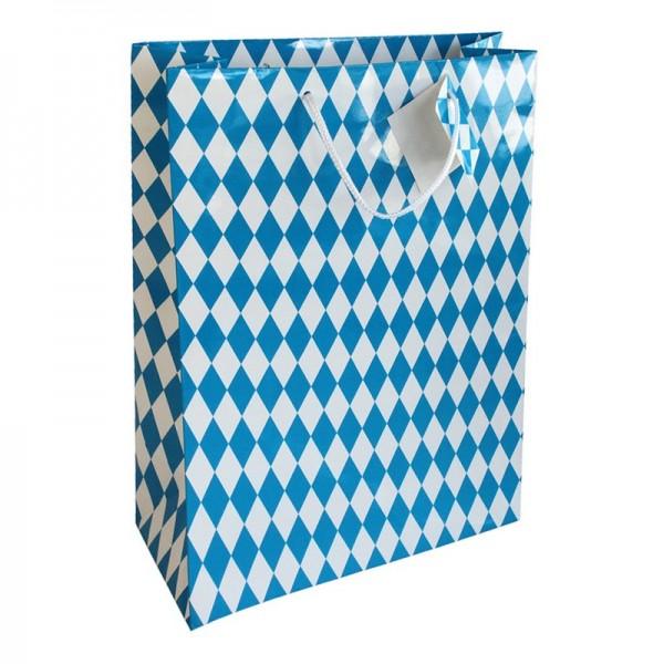 Geschenktaschen, 25 x 37 x 8 cm: Bayernraute