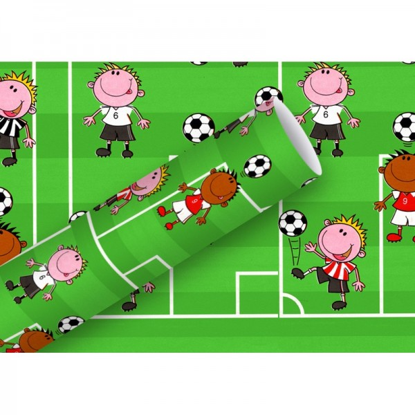 Geschenkpapier: Fußball