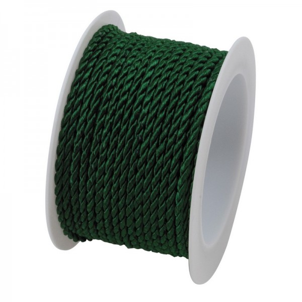 Cordonnet 2 mm: dunkelgrün