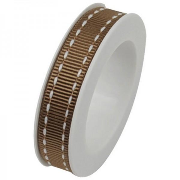 Ripsband 10 mm: Stich sand