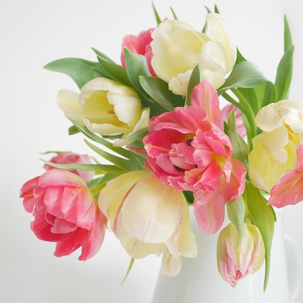Serviette Atelier: Tulip Romance