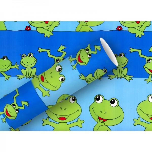 Geschenkpapier: Froggy