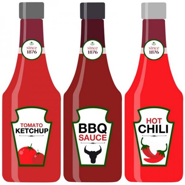 Serviette Atelier: Ketchup