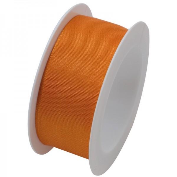 Taftband 25 mm: orange