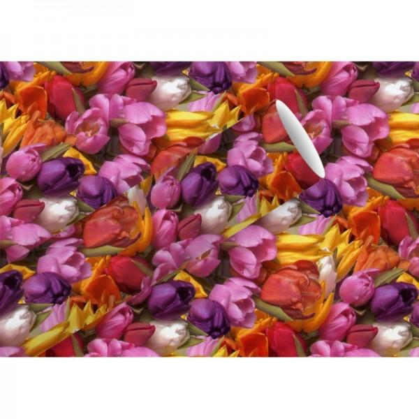 Geschenkpapier: Power Tulpen