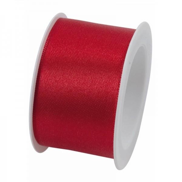 Satinband 40 mm: rot