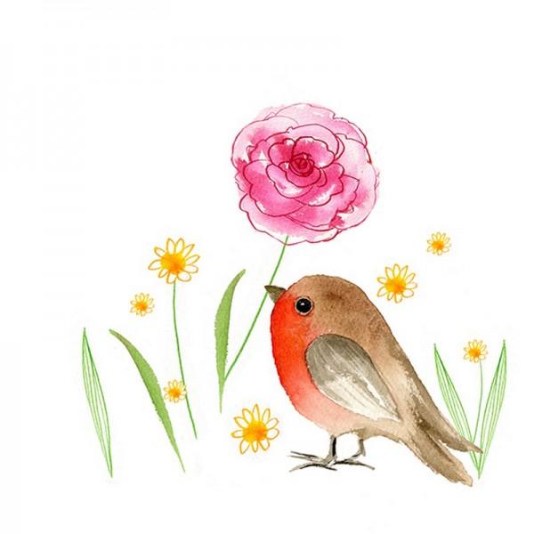 Serviette Atelier: My Flower