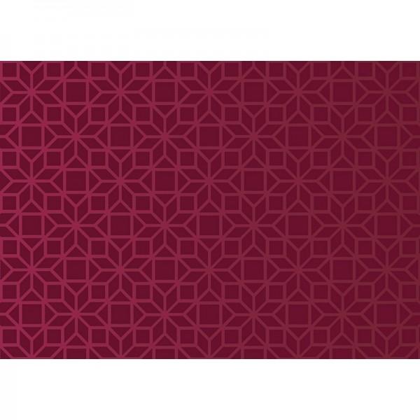 Geschenkpapier: Ornamental scarlet