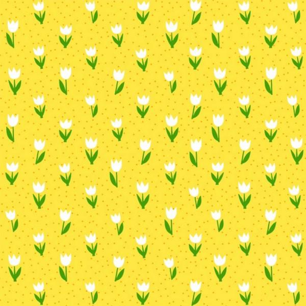 Serviette Atelier: Minitulips gelb