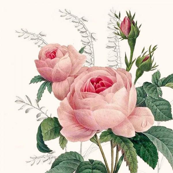Serviette Atelier: Wonderful Rose