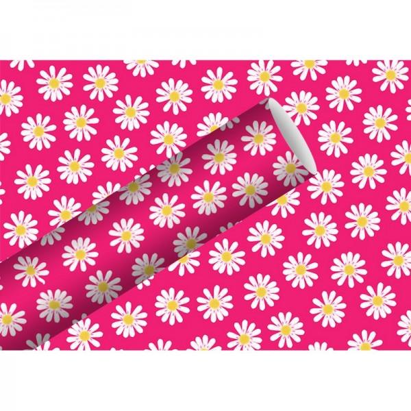 Geschenkpapier: Dancing Daisies pin