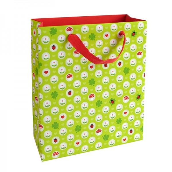 Geschenktaschen, 18 x 21 x 8 cm: Kleines Glück