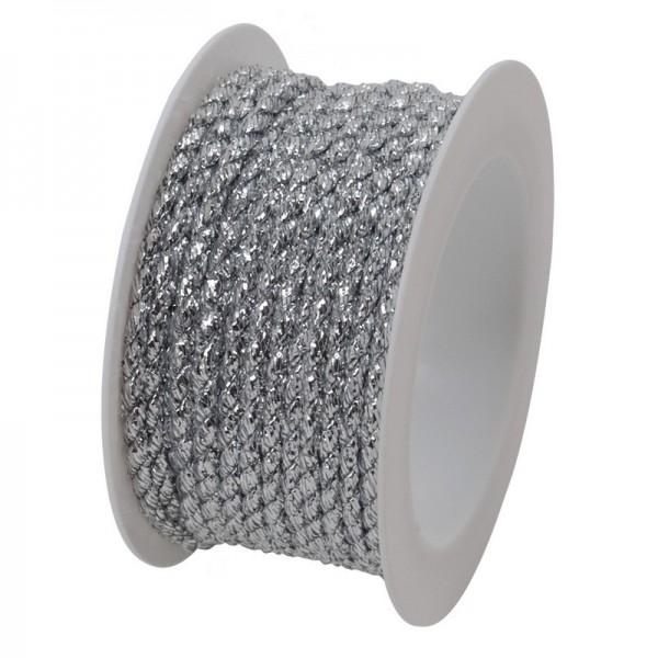Kordel 2 mm: silber