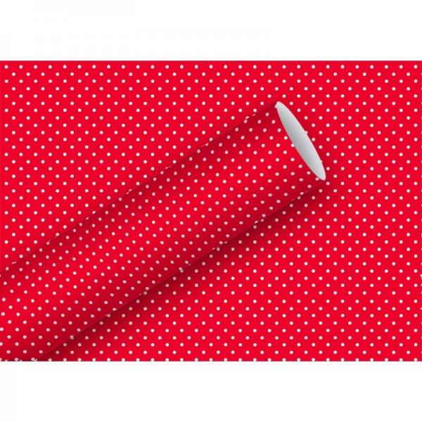 Geschenkpapier: Lulu, rot