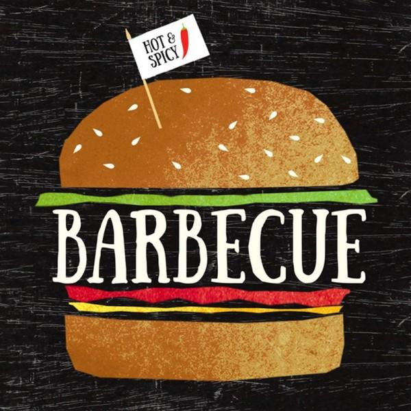 Serviette Atelier: Big BBQ