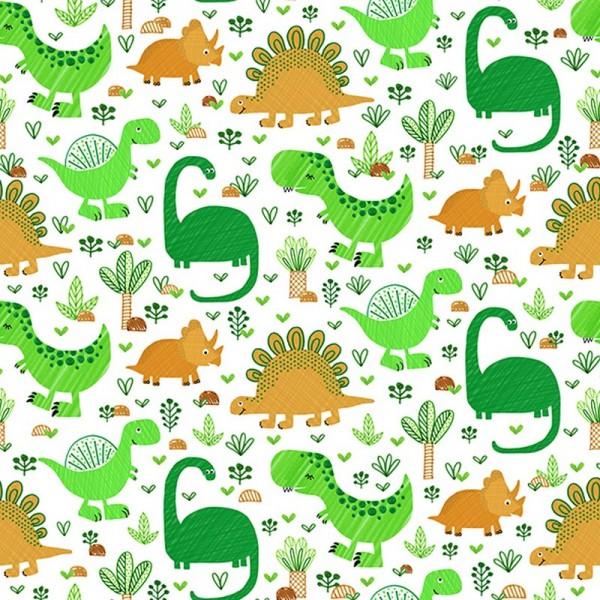 Serviette Atelier: Funny Dinos
